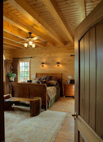 Banc Home Loans for Traditional Bedroom with Rustic
