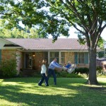 Banc Home Loans for Traditional Exterior with Blue Shutters