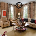 Barden Homes for Contemporary Living Room with Grass Cloth