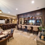 Barden Homes for Traditional Basement with Media Room