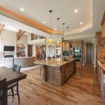 Barndominium Floor Plans for Traditional Kitchen with Open Concept Kitchen