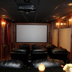 Barrington Theater for Traditional Home Theater with Mount Prospect