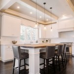 Barstool Chicago for Transitional Kitchen with Nailhead Trim