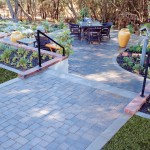 Basalite for Traditional Landscape with Paver
