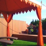 Bedouin Tent for Mediterranean Deck with Tent