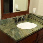 Bedrock Granite for Traditional Bathroom with Vanity