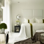Bedsonline for Contemporary Bedroom with Metallic Accents