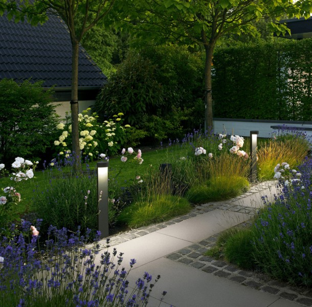 Bega Lighting for Contemporary Landscape with Contemporary