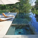 Bellagio Day Spa for Modern Pool with Blue Outdoor