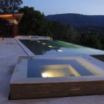 Bellagio Day Spa for Modern Pool with Minimal