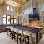 Belterra Austin for Rustic Kitchen with Rough Hewn Wood