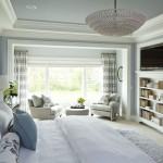 Benjamin Moore Dove White for Traditional Bedroom with Bedding