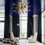 Benjamin Moore Hale Navy for Contemporary Bedroom with Apartment