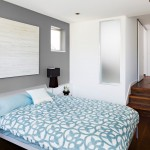 Benjamin Moore Seattle for Contemporary Bedroom with Step Down Bedroom