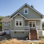 Benjamin Moore Seattle for Craftsman Exterior with Entry Porch