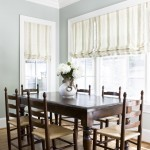 Benjamin Moore Tranquility for Traditional Dining Room with Baseboard