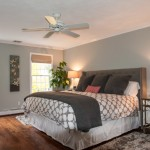 Benjamin Moore Tranquility for Transitional Bedroom with My Houzz