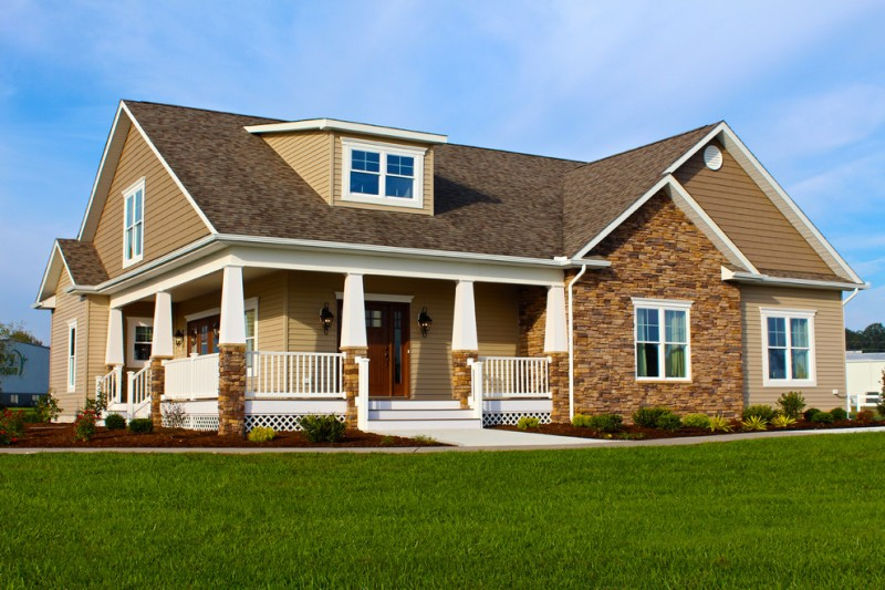 Beracah Homes for Craftsman Exterior with Factory Built