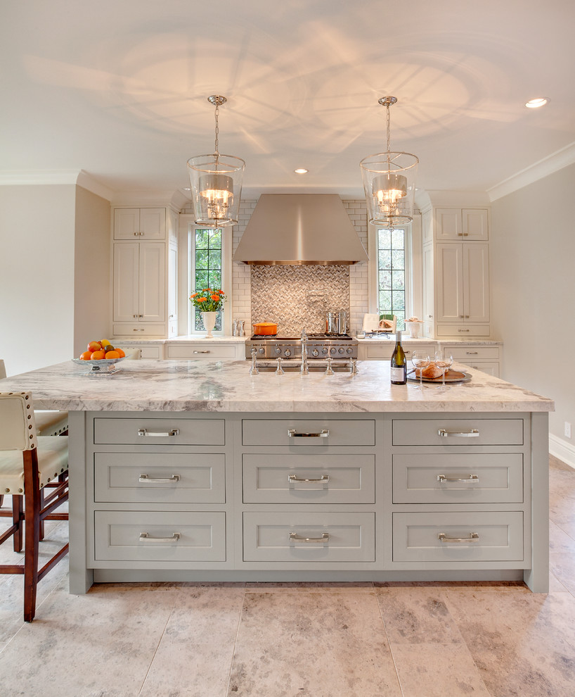 Berenson Hardware for Transitional Kitchen with Dura Supreme