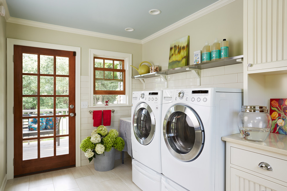 Best Smelling Laundry Detergent for Farmhouse Laundry Room with Bead Board