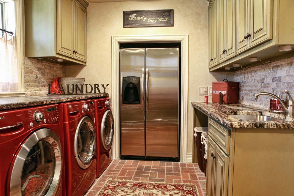 Best Smelling Laundry Detergent for Traditional Laundry Room with Stainless Steel