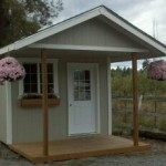 Better Built Barns for Traditional Shed with Mother in Law Home