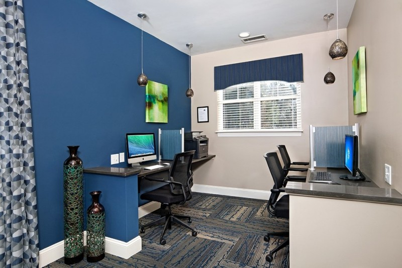 Bexley at Preston for Transitional Home Office with Computer Room
