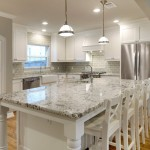 Bianco Antico Granite for Traditional Kitchen with Island