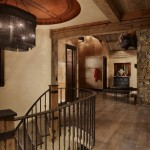 Bison Lumber for Rustic Entry with Faux Finish