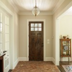 Bison Lumber for Traditional Entry with Repurposed Brick