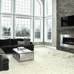 Blackhawk Hardware for Contemporary Living Room with Black