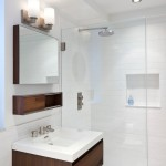 Blackman Plumbing for Contemporary Bathroom with Floating Vanity