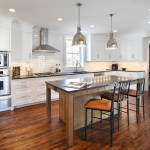 Bloomington Hardware for Contemporary Kitchen with Wood Floors