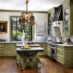 Bloomington Hardware for Traditional Kitchen with Wood Flooring