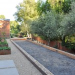 Bocce Ball Court for Contemporary Landscape with Contemporary