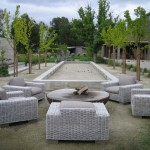 Bocce Ball Court for Farmhouse Landscape with Grasses