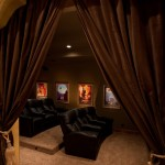 Boerne Theater for Rustic Spaces with Media Room Seating