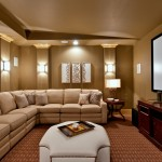 Boerne Theater for Traditional Home Theater with Bright Media Room