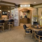 Bonney Lake Theater for Traditional Home Theater with Bar