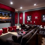 Bonney Lake Theater for Traditional Home Theater with Coffee Table