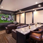 Bonney Lake Theater for Traditional Home Theater with Screening Room