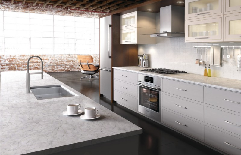 Boral Brick for Contemporary Kitchen with Contemporary