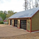 Boral Trim for Farmhouse Shed with Workshop