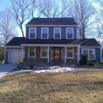 Boral Trim for Traditional Exterior with Boothbay Blue