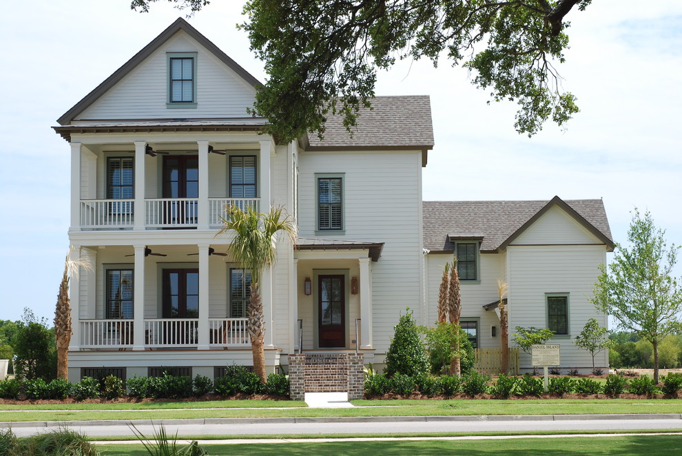 Boral Trim for Traditional Exterior with Entrance