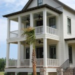 Boral Trim for Traditional Exterior with Wood Railing