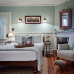 Bowditch Ford for Farmhouse Bedroom with White Wood