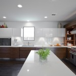 Bowling Alley Dallas for Contemporary Kitchen with Stainless Steel Appliances