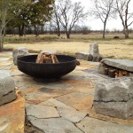 Bowling Alley Dallas for Contemporary Patio with Boulders