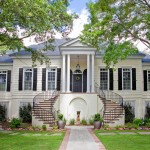Brickman Landscape for Traditional Exterior with Beige Siding